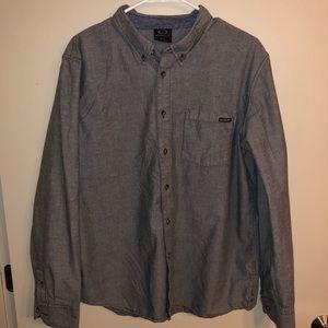 Oakley Men's Casual Button Down Shirt